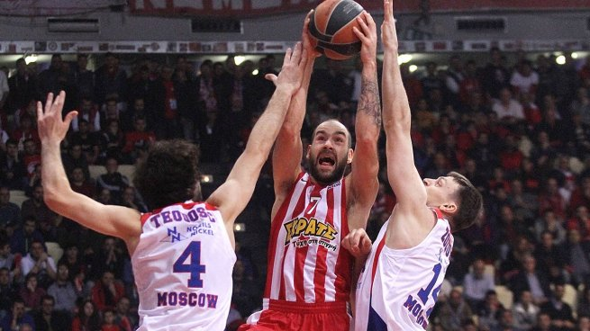 CSKA - Olympiakos (Foto: euroleague.net)