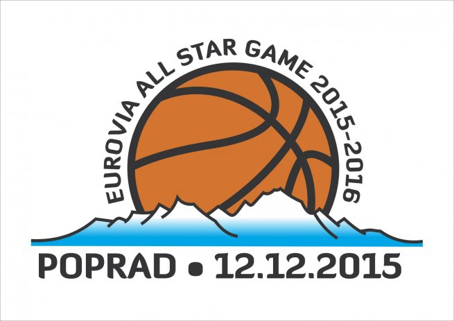 Logo Eurovia ALL STARS game 2015 - 2016