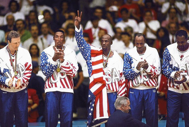 Michael Jordan, Dream Team 1992 (Foto: NBA)