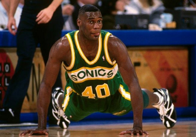 Shawn Kemp, Seatle Sonics