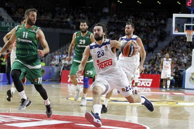 Real Madrid (ESP) vs. Panathinaikos Superfoods Atény (GRE), Sergio Llull (23) (Foto: euroleague.net)