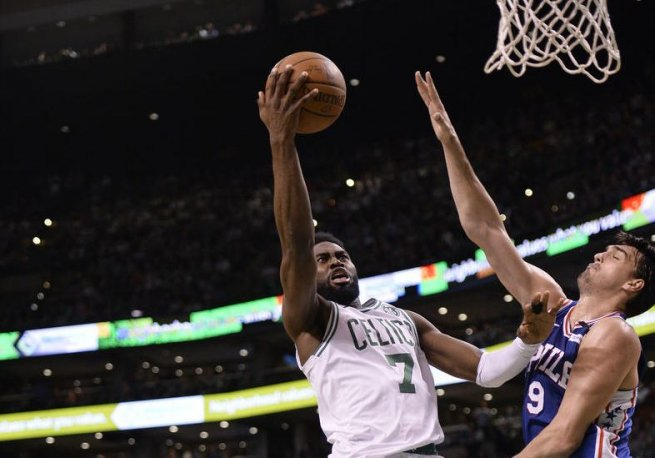 BOS Celtics vs. PHI 76ers, Jaylen Brown (7) (Foto: nba.com)