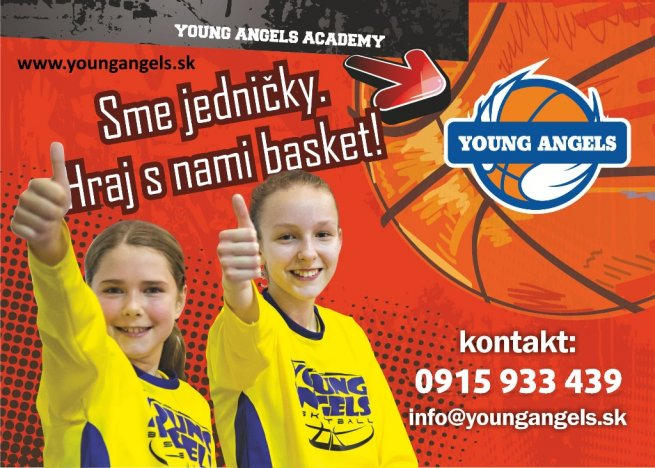 Nábor Young Angels Academy 2018