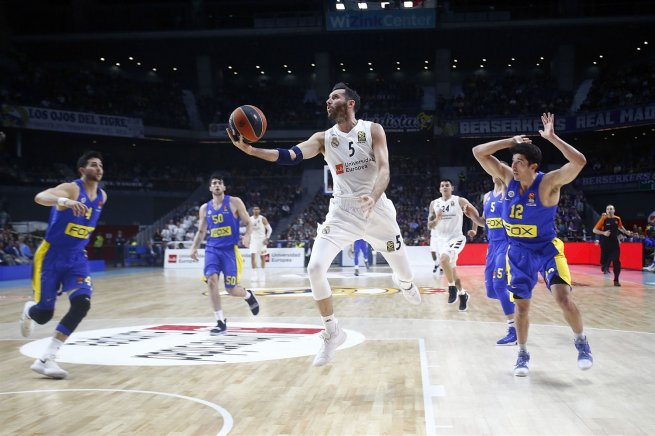 Real Madrid (ESP) vs. Maccabi Tel Aviv (ISR), Rudy Fernandez (5) (Foto: euroleague.net)