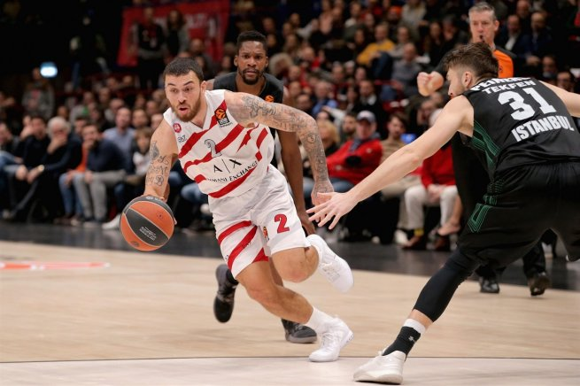 Olimpia Milan vs. Darussafaka Istanbul, Mike James (2) (Foto: euroleague.net)