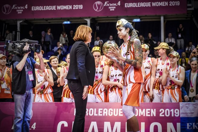 Brittney Griner (42), UMMC Jekaterinburg (RUS), MVP Final Four (Foto: fiba.basketball)