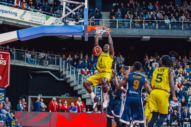 Jae´Sean Tate (8), Telenet Giants Antverpy (BEL) (Foto: antwerpgiants.be)