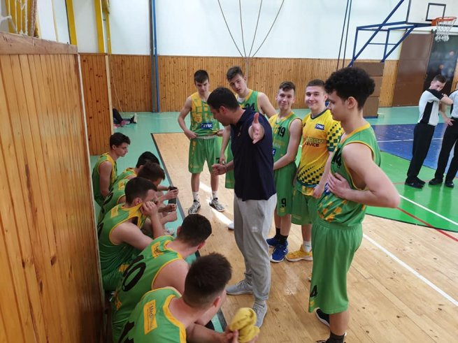 MBK VICTORIA Žilina U19 vs. ŠBK JUNIOR Levice U19 (Foto: fb SBKJuniorLevice)
