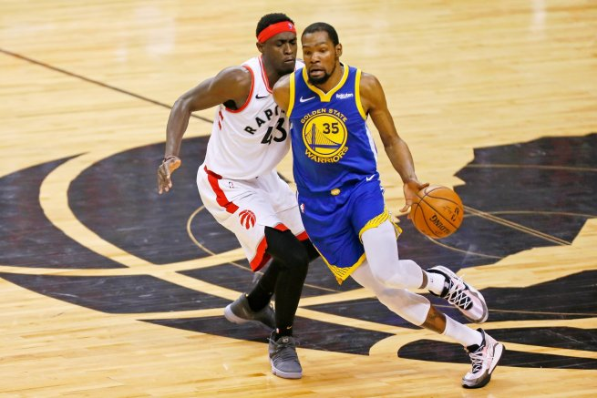 TOR Raptors vs. GS Warriors, Kevin Durant (35) (Foto: SITA/AP)
