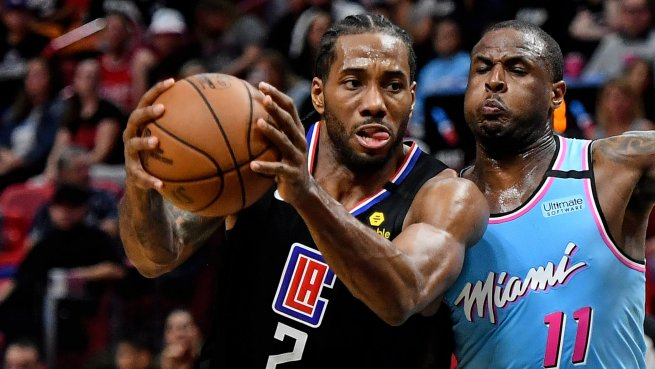 MIA Heat vs. LA Clippers, Kawhi Leonard (2) (Foto: nba.com)