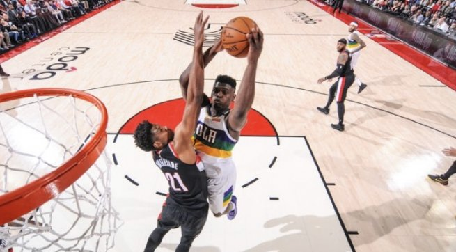 Zion Williamson (1), New Orleans Pelicans (NBA, USA) (Foto: nba.com)