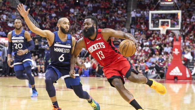 HOU Rockets vs. MIN Timberwolves, James Harden (13) (Foto: si.com)