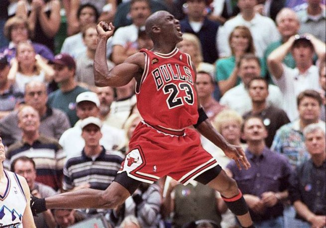Michael Jordan (23), CHI Bulls (Foto: the last dance)