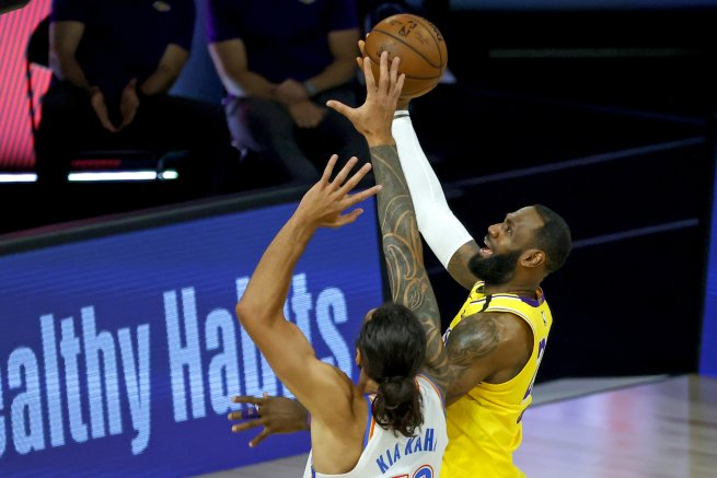 LeBron James (23), LA Lakers (NBA, USA) (Foto: TASR/AP)