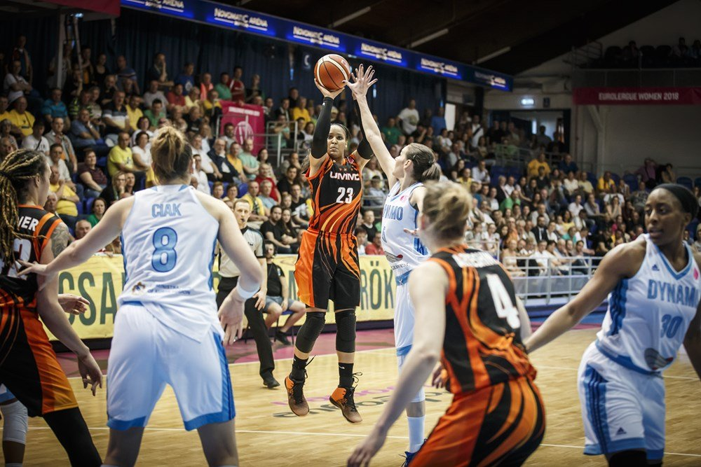 Dinamo Kursk: 77 - UMMC Ekaterinburg: 84