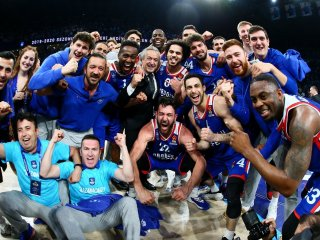 VIDEO: Anadolu Efes zasypal Barcelonu trojkami a postúpil do Final Four